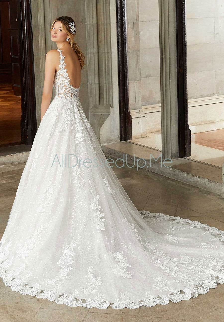 Morilee - Sansa - 2130 - 2130W - All Dressed Up, Bridal Gown - Morilee - - Wedding Gowns Dresses Chattanooga Hixson Shops Boutiques Tennessee TN Georgia GA MSRP Lowest Prices Sale Discount