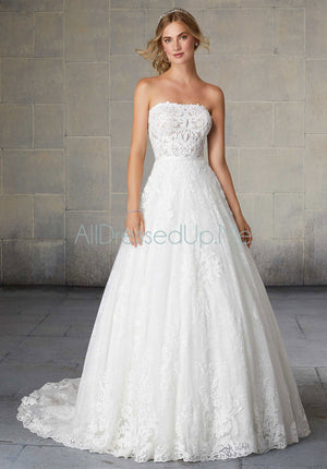 Morilee - Shauna - 2132 - All Dressed Up, Bridal Gown - Morilee - - Wedding Gowns Dresses Chattanooga Hixson Shops Boutiques Tennessee TN Georgia GA MSRP Lowest Prices Sale Discount