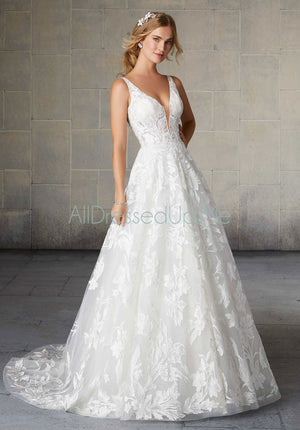 Morilee - Sheila - 2135 - 2135W - Cheron's Bridal, Wedding Gown - Morilee - - Wedding Gowns Dresses Chattanooga Hixson Shops Boutiques Tennessee TN Georgia GA MSRP Lowest Prices Sale Discount