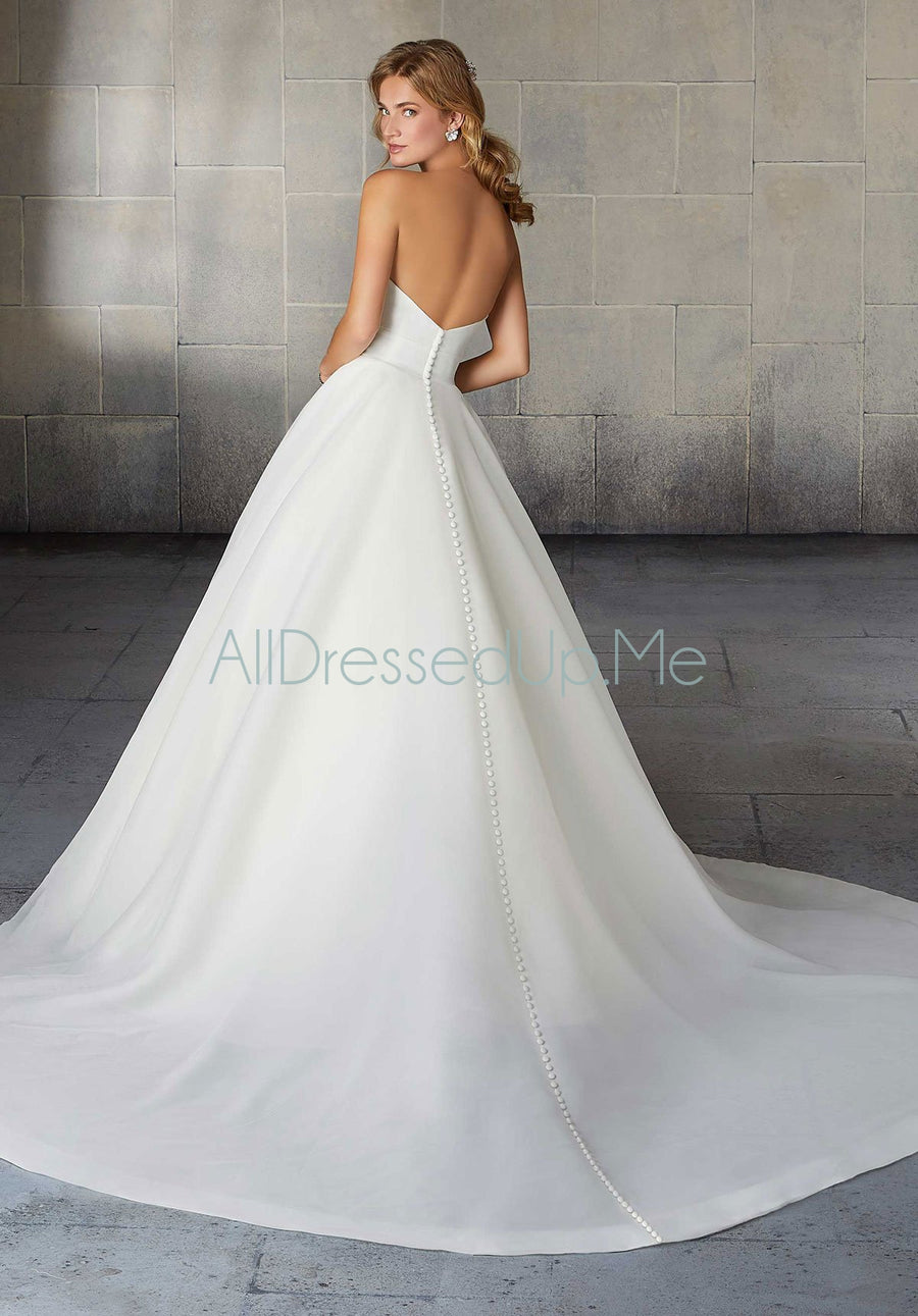Morilee - Sadie - 2138 - 2138W - Cheron's Bridal, Wedding Gown - Morilee - - Wedding Gowns Dresses Chattanooga Hixson Shops Boutiques Tennessee TN Georgia GA MSRP Lowest Prices Sale Discount