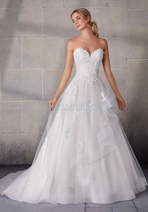Morilee - Shania - 2140 - Cheron's Bridal, Wedding Gown - Morilee - - Wedding Gowns Dresses Chattanooga Hixson Shops Boutiques Tennessee TN Georgia GA MSRP Lowest Prices Sale Discount