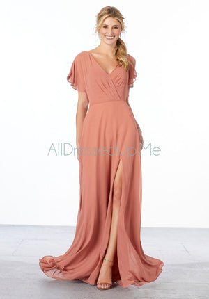 Bridesmaids Dress - 21667 - 21667W - 42 Colors & 24 Sizes - Morilee HQ