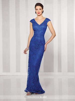 Last Dress In Stock; Size: 12, Color: Royal Blue - Cameron Blake - 216693