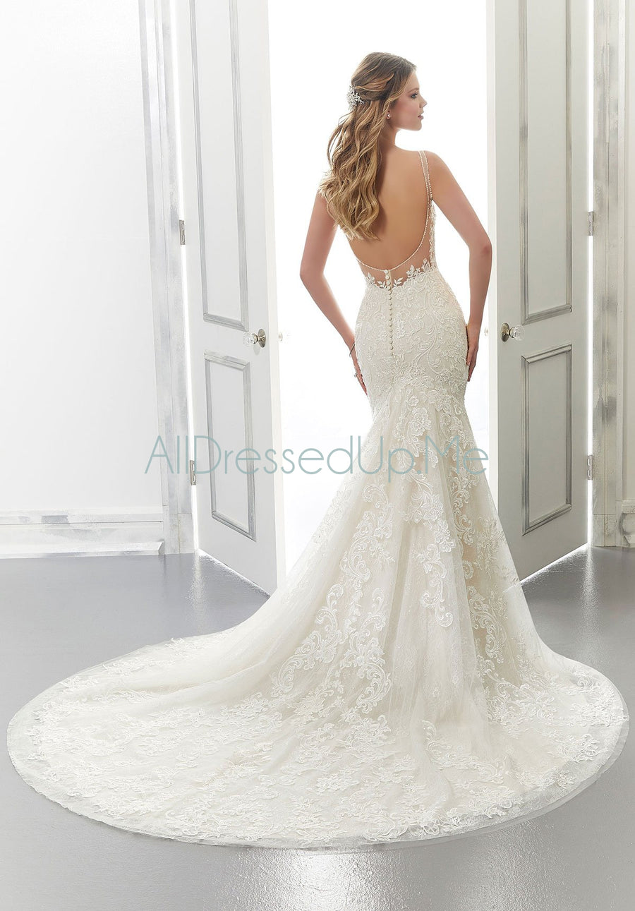 Morilee - Aria - 2172 - Cheron's Bridal, Wedding Gown - Morilee - - Wedding Gowns Dresses Chattanooga Hixson Shops Boutiques Tennessee TN Georgia GA MSRP Lowest Prices Sale Discount