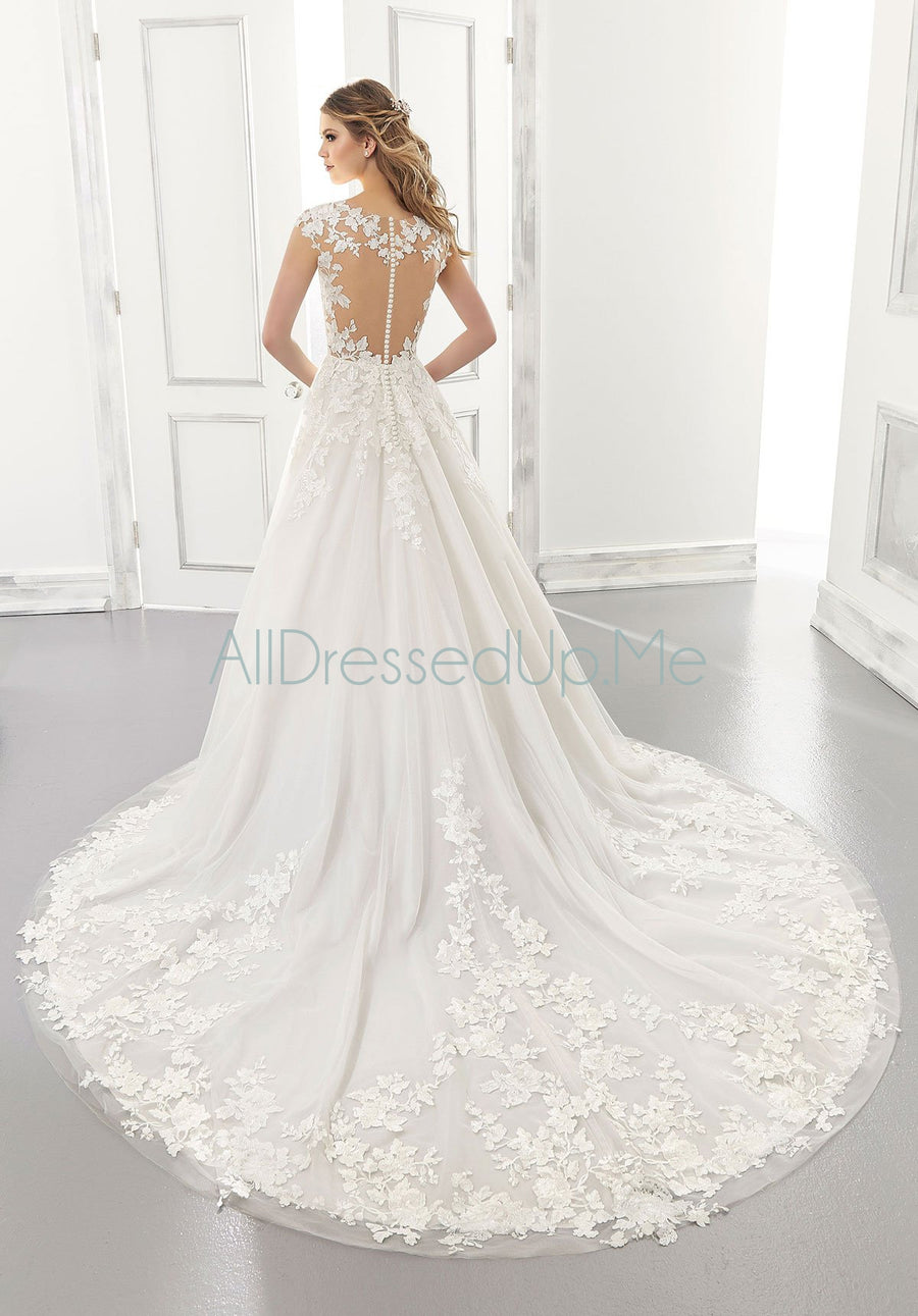 Morilee - Agatha - 2173 - All Dressed Up, Bridal Gown - Morilee - - Wedding Gowns Dresses Chattanooga Hixson Shops Boutiques Tennessee TN Georgia GA MSRP Lowest Prices Sale Discount