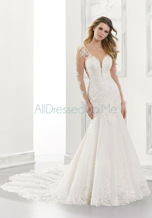 Morilee - Anastasia - 2174 - Cheron's Bridal, Wedding Gown - Morilee - - Wedding Gowns Dresses Chattanooga Hixson Shops Boutiques Tennessee TN Georgia GA MSRP Lowest Prices Sale Discount
