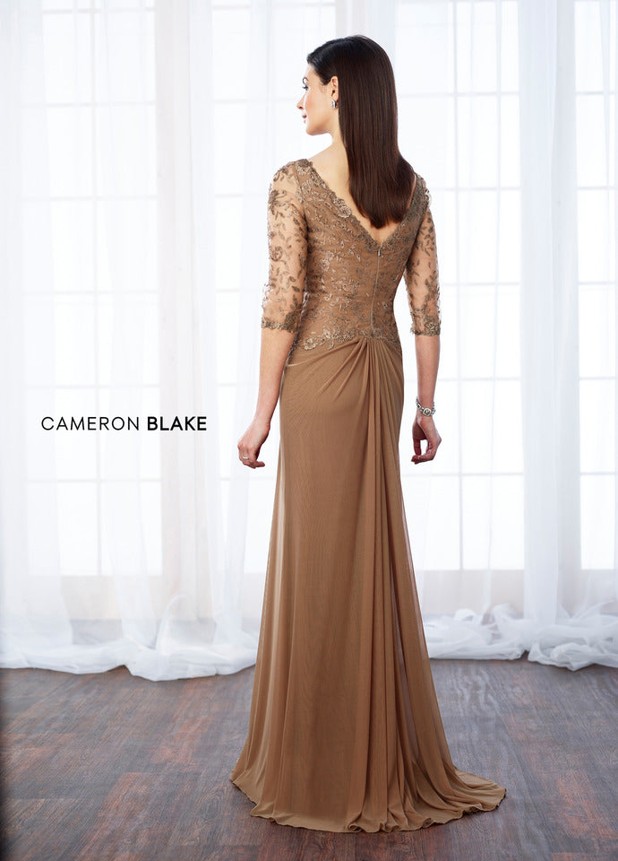 Last Dress In Stock; Size: 16, Color: Charcoal - Cameron Blake - 217646