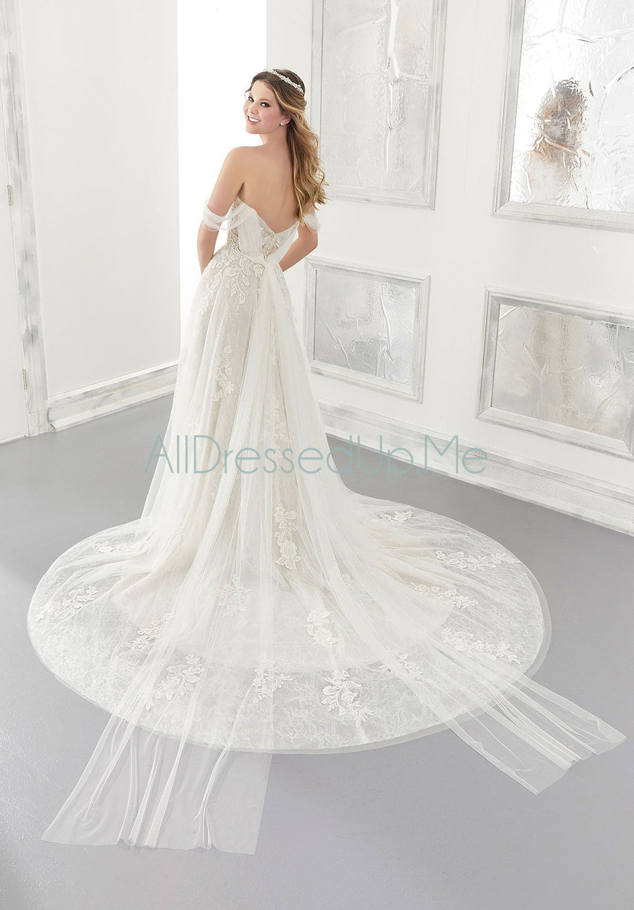 Morilee - Allegra - 2178 - Cheron's Bridal, Wedding Gown - Morilee - - Wedding Gowns Dresses Chattanooga Hixson Shops Boutiques Tennessee TN Georgia GA MSRP Lowest Prices Sale Discount