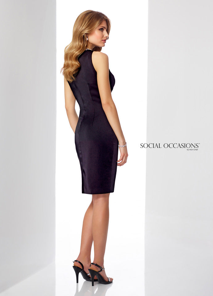 Last Dress In Stock; Size: 8, Color: Smoke - Social Occasions - 217851