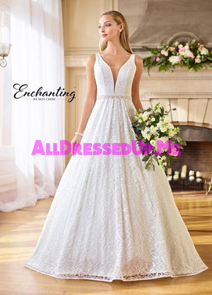 Enchanting - 218161 - 218161W - All Dressed Up, Bridal Gown - Mon Cheri - - Wedding Gowns Dresses Chattanooga Hixson Shops Boutiques Tennessee TN Georgia GA MSRP Lowest Prices Sale Discount