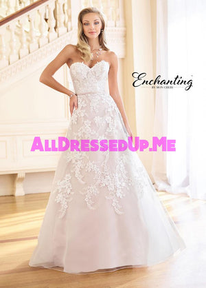 Enchanting - 218162 - 218162W - All Dressed Up, Bridal Gown - Mon Cheri - - Wedding Gowns Dresses Chattanooga Hixson Shops Boutiques Tennessee TN Georgia GA MSRP Lowest Prices Sale Discount