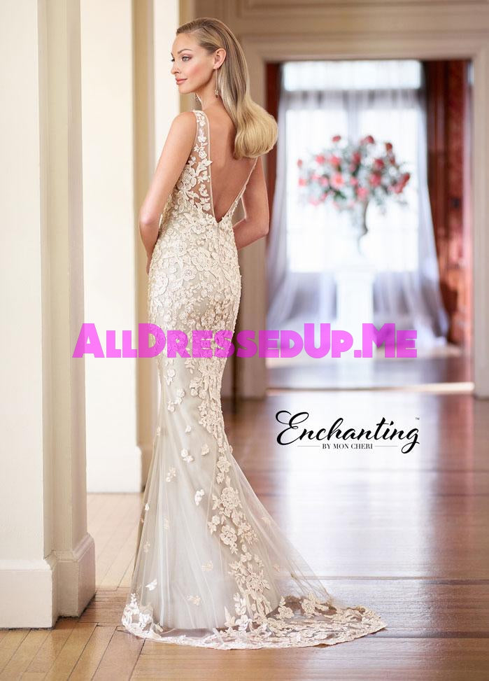 Enchanting - 218163 - 218163W - All Dressed Up, Bridal Gown - Mon Cheri - - Wedding Gowns Dresses Chattanooga Hixson Shops Boutiques Tennessee TN Georgia GA MSRP Lowest Prices Sale Discount