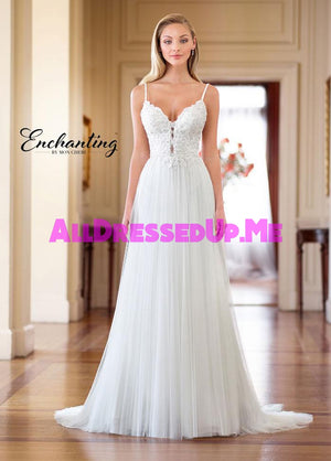 Enchanting - 218164 - 218164W - All Dressed Up, Bridal Gown - Mon Cheri - - Wedding Gowns Dresses Chattanooga Hixson Shops Boutiques Tennessee TN Georgia GA MSRP Lowest Prices Sale Discount