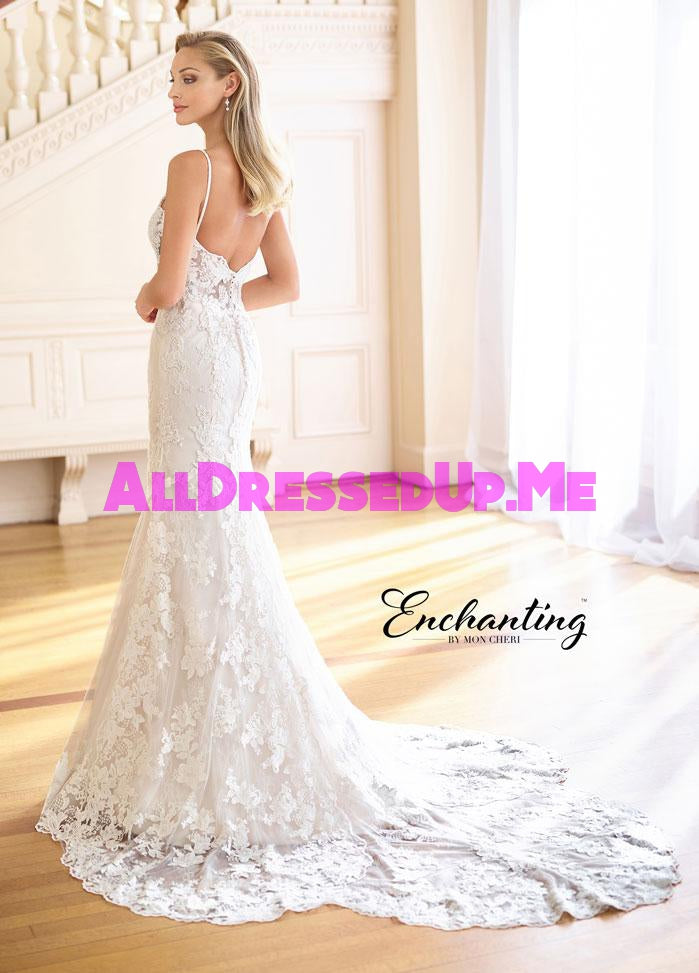 Enchanting - 218165 - All Dressed Up, Bridal Gown - Mon Cheri - - Wedding Gowns Dresses Chattanooga Hixson Shops Boutiques Tennessee TN Georgia GA MSRP Lowest Prices Sale Discount