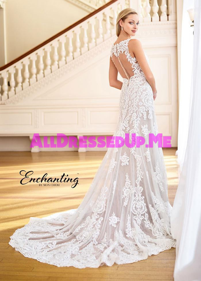 Enchanting - 218167 - 218167W - All Dressed Up, Bridal Gown - Mon Cheri - - Wedding Gowns Dresses Chattanooga Hixson Shops Boutiques Tennessee TN Georgia GA MSRP Lowest Prices Sale Discount