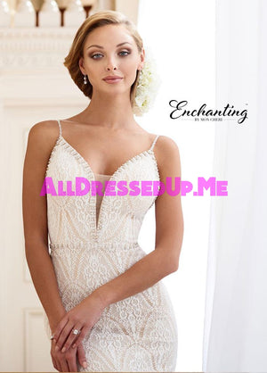 Enchanting - 218172 - All Dressed Up, Bridal Gown - Mon Cheri - - Wedding Gowns Dresses Chattanooga Hixson Shops Boutiques Tennessee TN Georgia GA MSRP Lowest Prices Sale Discount