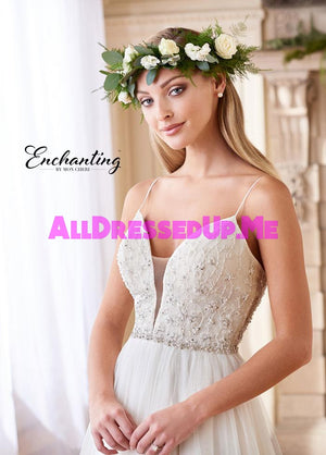 Enchanting - 218173 - 218173W - All Dressed Up, Bridal Gown - Mon Cheri - - Wedding Gowns Dresses Chattanooga Hixson Shops Boutiques Tennessee TN Georgia GA MSRP Lowest Prices Sale Discount