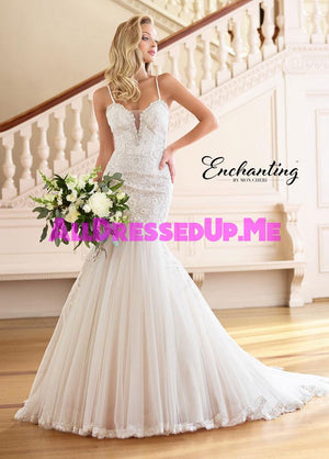 Enchanting - 218174 - 218174W - All Dressed Up, Bridal Gown - Mon Cheri - - Wedding Gowns Dresses Chattanooga Hixson Shops Boutiques Tennessee TN Georgia GA MSRP Lowest Prices Sale Discount