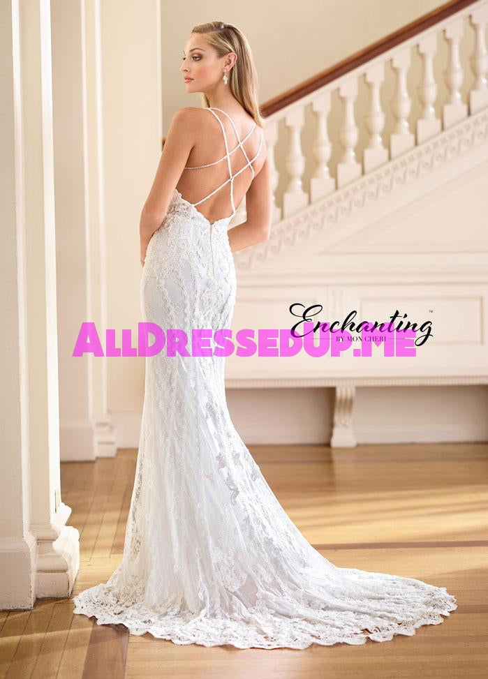 Enchanting - 218175 - All Dressed Up, Bridal Gown - Mon Cheri - - Wedding Gowns Dresses Chattanooga Hixson Shops Boutiques Tennessee TN Georgia GA MSRP Lowest Prices Sale Discount