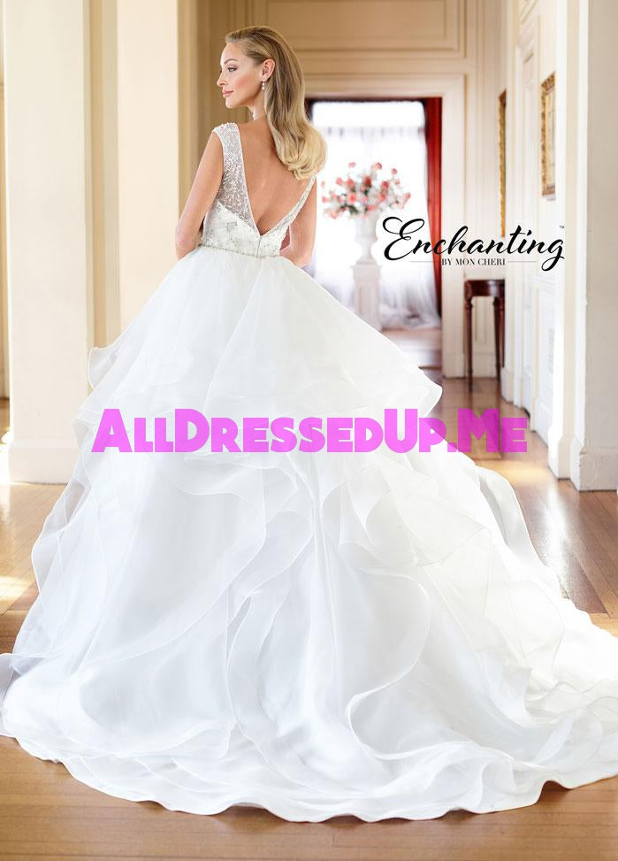 Enchanting - 218178 - 218178W - All Dressed Up, Bridal Gown - Mon Cheri - - Wedding Gowns Dresses Chattanooga Hixson Shops Boutiques Tennessee TN Georgia GA MSRP Lowest Prices Sale Discount