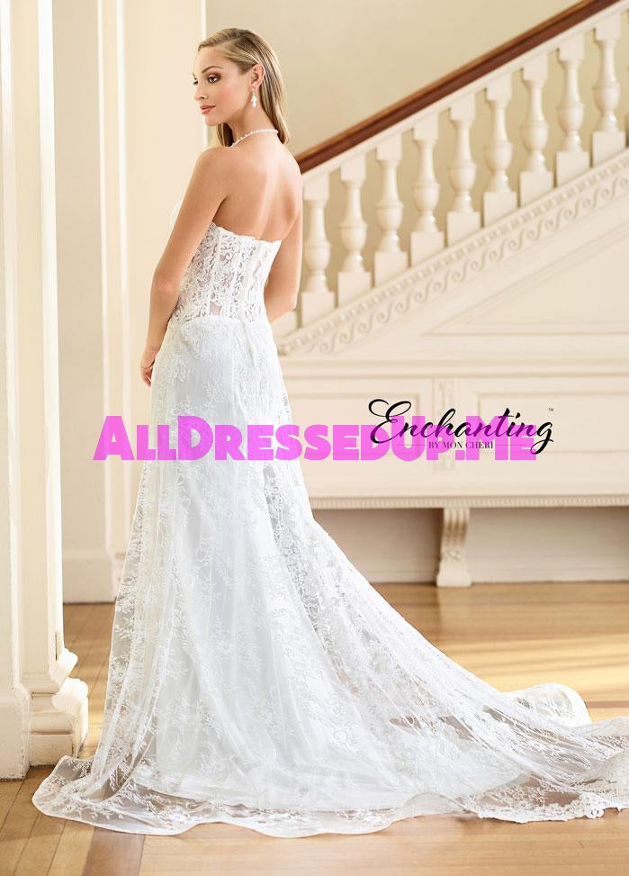 Enchanting - 218181 - 218181W - All Dressed Up, Bridal Gown - Mon Cheri - - Wedding Gowns Dresses Chattanooga Hixson Shops Boutiques Tennessee TN Georgia GA MSRP Lowest Prices Sale Discount