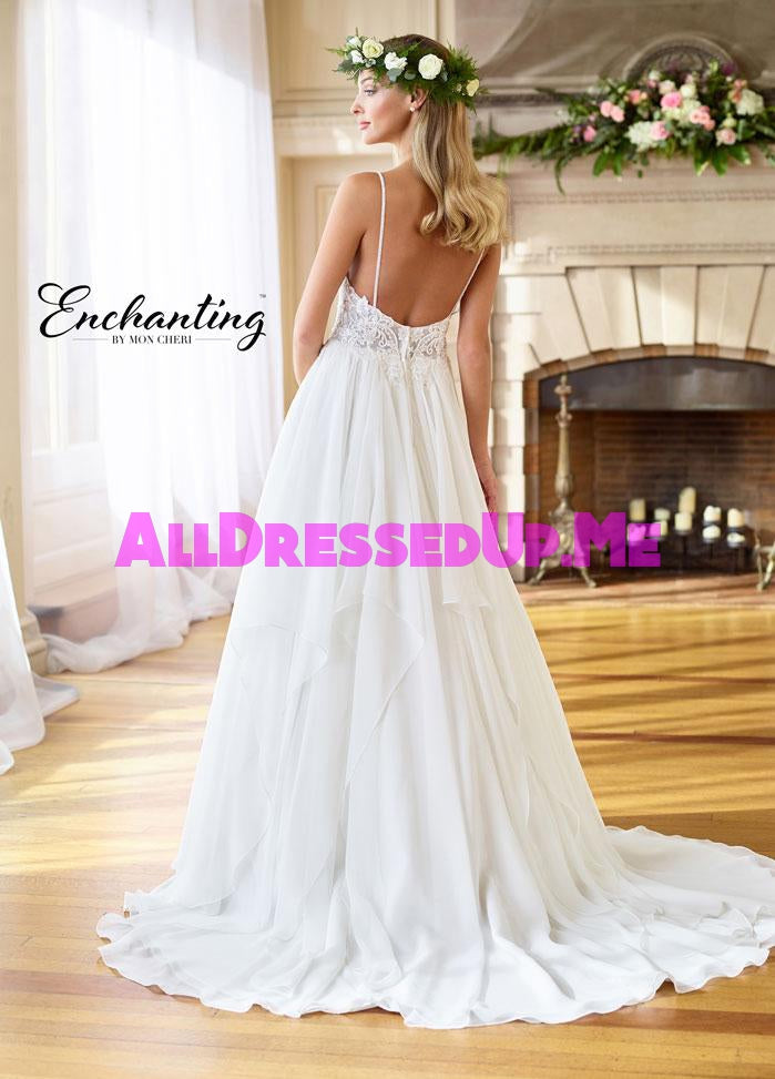 Enchanting - 218182 - All Dressed Up, Bridal Gown - Mon Cheri - - Wedding Gowns Dresses Chattanooga Hixson Shops Boutiques Tennessee TN Georgia GA MSRP Lowest Prices Sale Discount