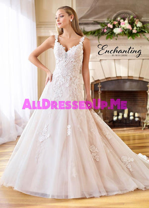 Enchanting - 218183 - 218183W - All Dressed Up, Bridal Gown - Mon Cheri - - Wedding Gowns Dresses Chattanooga Hixson Shops Boutiques Tennessee TN Georgia GA MSRP Lowest Prices Sale Discount