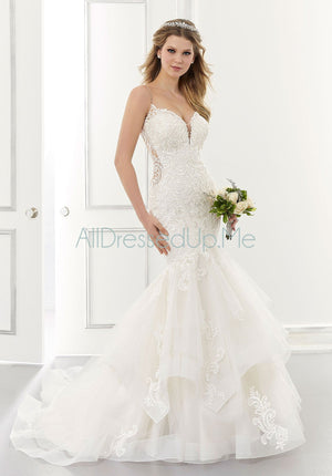 Morilee - Alexis - 2182 - Cheron's Bridal, Wedding Gown - Morilee - - Wedding Gowns Dresses Chattanooga Hixson Shops Boutiques Tennessee TN Georgia GA MSRP Lowest Prices Sale Discount