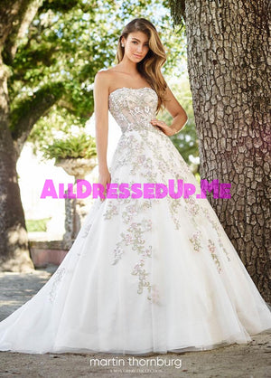 Martin Thornburg - Flora - 218227 - 218227W - All Dressed Up, Bridal Gown - Mon Cheri - - Wedding Gowns Dresses Chattanooga Hixson Shops Boutiques Tennessee TN Georgia GA MSRP Lowest Prices Sale Discount