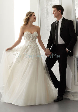 Morilee - Antonella - 2183 - Cheron's Bridal, Wedding Gown - Morilee - - Wedding Gowns Dresses Chattanooga Hixson Shops Boutiques Tennessee TN Georgia GA MSRP Lowest Prices Sale Discount
