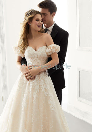 Morilee - Abigail - 2185 - Cheron's Bridal, Wedding Gown - Morilee - - Wedding Gowns Dresses Chattanooga Hixson Shops Boutiques Tennessee TN Georgia GA MSRP Lowest Prices Sale Discount