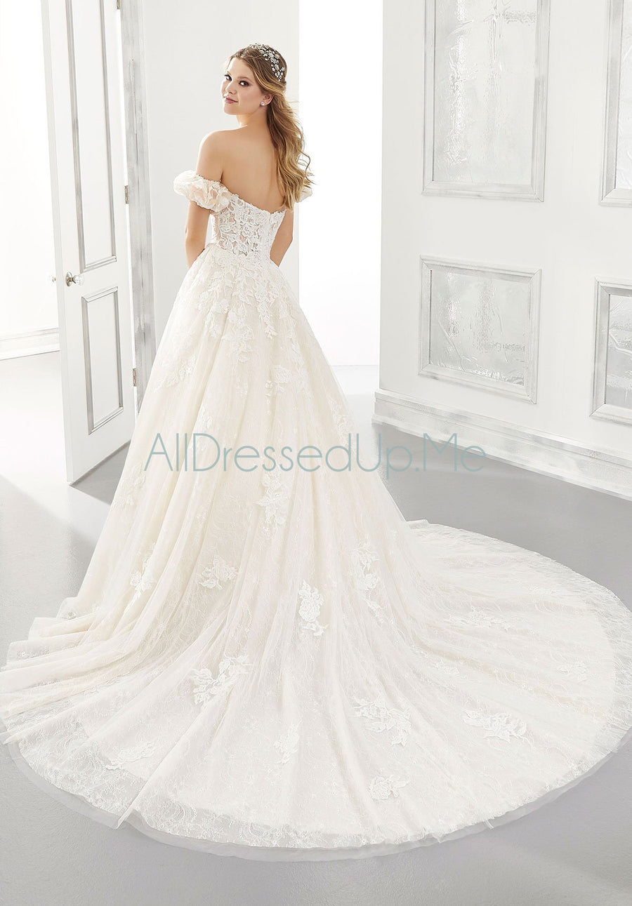 Morilee - Abigail - 2185 - All Dressed Up, Bridal Gown - Morilee - - Wedding Gowns Dresses Chattanooga Hixson Shops Boutiques Tennessee TN Georgia GA MSRP Lowest Prices Sale Discount
