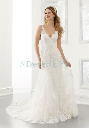 Morilee - Amalia - 2186 - Cheron's Bridal, Wedding Gown - Morilee - - Wedding Gowns Dresses Chattanooga Hixson Shops Boutiques Tennessee TN Georgia GA MSRP Lowest Prices Sale Discount