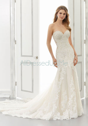 Morilee - Allison - 2188 - 2188W - All Dressed Up, Bridal Gown - Morilee - - Wedding Gowns Dresses Chattanooga Hixson Shops Boutiques Tennessee TN Georgia GA MSRP Lowest Prices Sale Discount