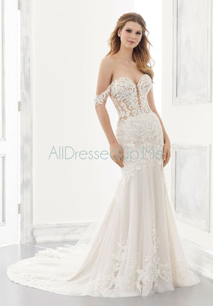 Morilee - Adaline - 2190 - Cheron's Bridal, Wedding Gown - Morilee - - Wedding Gowns Dresses Chattanooga Hixson Shops Boutiques Tennessee TN Georgia GA MSRP Lowest Prices Sale Discount