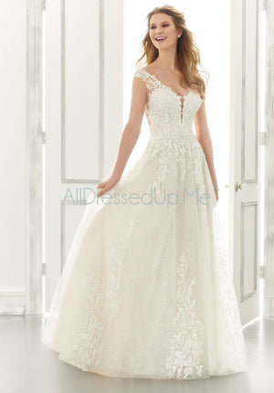 Morilee - Alice - 2191 - Cheron's Bridal, Wedding Gown - Morilee - - Wedding Gowns Dresses Chattanooga Hixson Shops Boutiques Tennessee TN Georgia GA MSRP Lowest Prices Sale Discount
