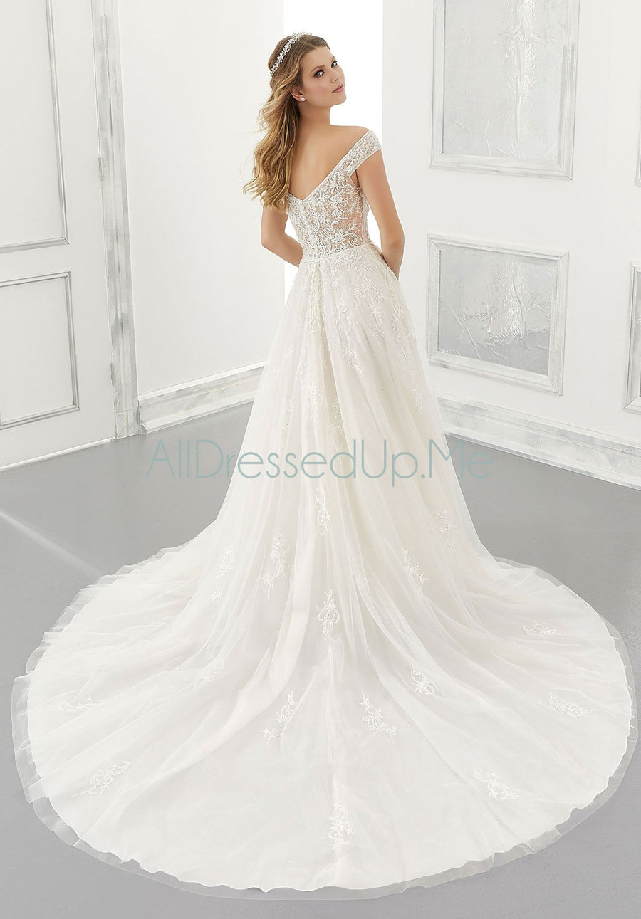 Morilee - Alessandra - 2193 - All Dressed Up, Bridal Gown - Morilee - - Wedding Gowns Dresses Chattanooga Hixson Shops Boutiques Tennessee TN Georgia GA MSRP Lowest Prices Sale Discount