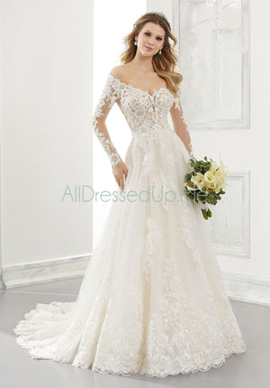 Morilee - Ambrosia - 2196 - 2196W - All Dressed Up, Bridal Gown - Morilee - - Wedding Gowns Dresses Chattanooga Hixson Shops Boutiques Tennessee TN Georgia GA MSRP Lowest Prices Sale Discount