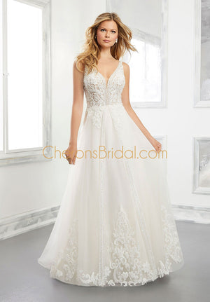 Morilee - 2302 - 2302W - Brielle - Cheron's Bridal, Wedding Gown - Morilee - - Wedding Gowns Dresses Chattanooga Hixson Shops Boutiques Tennessee TN Georgia GA MSRP Lowest Prices Sale Discount