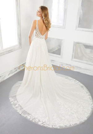 Morilee - 2302 - Brielle - Cheron's Bridal, Wedding Gown - Morilee - - Wedding Gowns Dresses Chattanooga Hixson Shops Boutiques Tennessee TN Georgia GA MSRP Lowest Prices Sale Discount