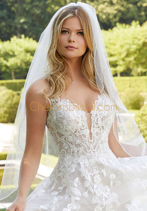 Morilee - 2306 - Bernadette - Cheron's Bridal, Wedding Gown - Morilee - - Wedding Gowns Dresses Chattanooga Hixson Shops Boutiques Tennessee TN Georgia GA MSRP Lowest Prices Sale Discount