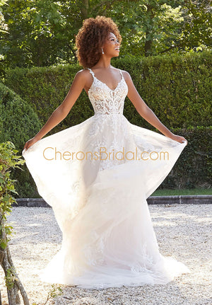 Morilee - 2309 - Brenda - Cheron's Bridal, Wedding Gown - Morilee - - Wedding Gowns Dresses Chattanooga Hixson Shops Boutiques Tennessee TN Georgia GA MSRP Lowest Prices Sale Discount