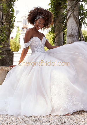 Morilee - 2311 - Belle - Cheron's Bridal, Wedding Gown - Morilee - - Wedding Gowns Dresses Chattanooga Hixson Shops Boutiques Tennessee TN Georgia GA MSRP Lowest Prices Sale Discount