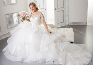 Julietta - Alyssa - 3308 - Cheron's Bridal, Wedding Gown - Morilee - - Wedding Gowns Dresses Chattanooga Hixson Shops Boutiques Tennessee TN Georgia GA MSRP Lowest Prices Sale Discount