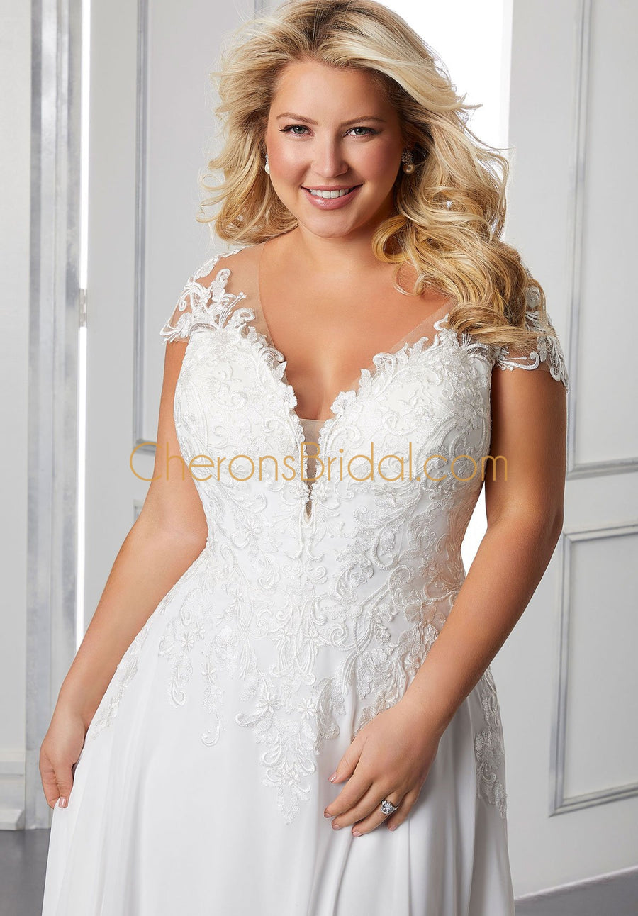 Julietta - 3311 - Barbara - Cheron's Bridal, Wedding Gown - Morilee - - Wedding Gowns Dresses Chattanooga Hixson Shops Boutiques Tennessee TN Georgia GA MSRP Lowest Prices Sale Discount