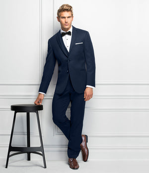 Diamond Plus - 371 - Ultra Slim Navy Serling - All Dressed Up, Suit Rental