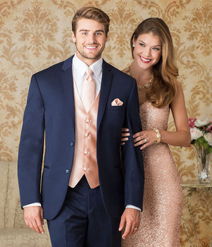 Diamond Plus - 372 - Navy Sterling - All Dressed Up, Suit Rental