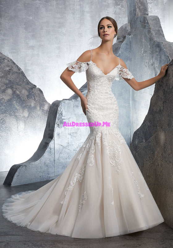 Blu - 5601 - Keira - All Dressed Up, Bridal Gown - Morilee - - Wedding Gowns Dresses Chattanooga Hixson Shops Boutiques Tennessee TN Georgia GA MSRP Lowest Prices Sale Discount