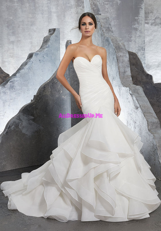 Blu - 5604 - Karina - All Dressed Up, Bridal Gown - Morilee - - Wedding Gowns Dresses Chattanooga Hixson Shops Boutiques Tennessee TN Georgia GA MSRP Lowest Prices Sale Discount