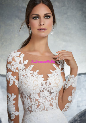 Blu - 5609 - Kaira - All Dressed Up, Bridal Gown - Morilee - - Wedding Gowns Dresses Chattanooga Hixson Shops Boutiques Tennessee TN Georgia GA MSRP Lowest Prices Sale Discount